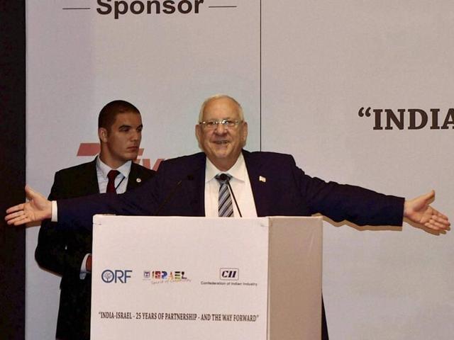 Reuven Rivlin,Israeli president Rivlin,Reuven Rivlin's India visit