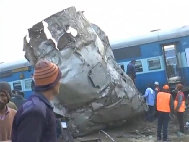 Over 40 people have been killed so far as at least 14 coaches of the Patna-Indore Express derailed near Pukhrayan area in Kanpur.
