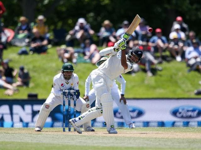 Jeet Raval followed up his 55 in the first innings with an impressive 36 to help New Zealand beat Pakistan in Christchurch.