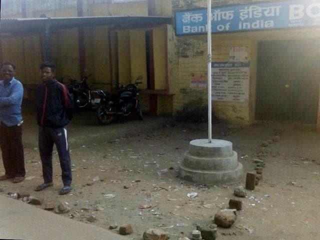 Queues outside banks,Jharkhand,Demonetisation