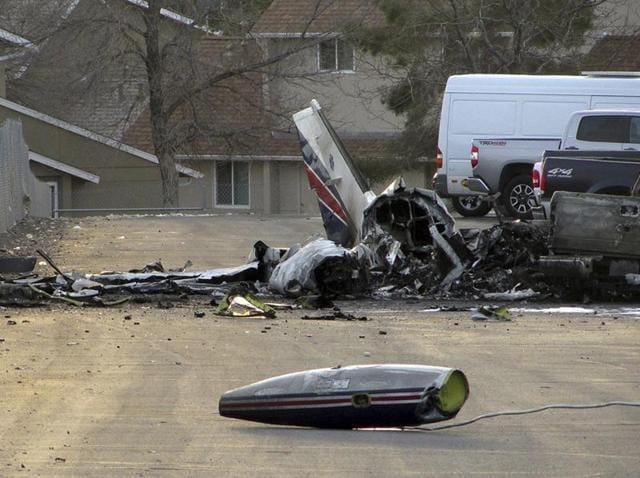 Air ambulance crash,Nevada,US
