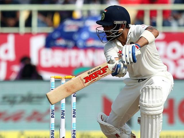 Virat Kohli has scored a total of over 200 runs in a Test  four times, which is the most ever by an Indian captain.