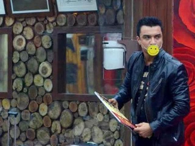 Ajaz Khan participated in the seventh season of Bigg Boss.