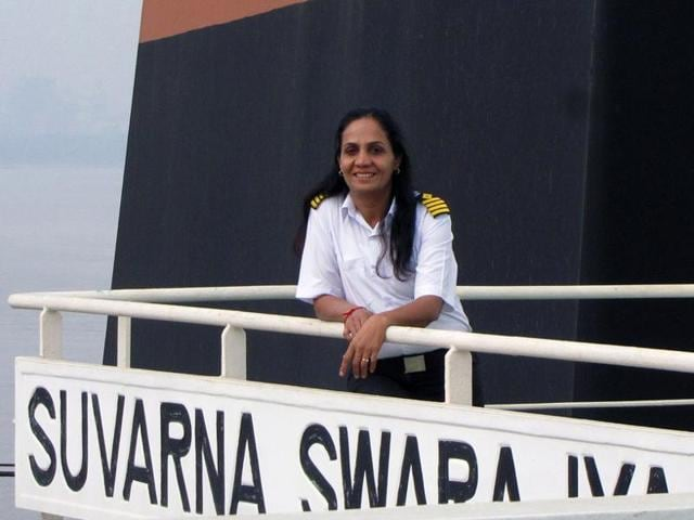 File photo of Captain Radhika Menon.