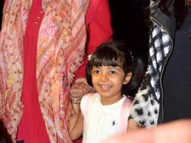 Aaradhya Bachchan turned 5 on November 16.