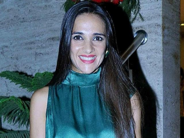 Actor Tara Sharma says her sons love to see her on TV.