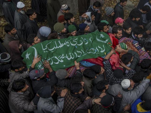 J-K: Hundreds attend funeral of LeT's 'engineer' militant amid pro-azadi slogans