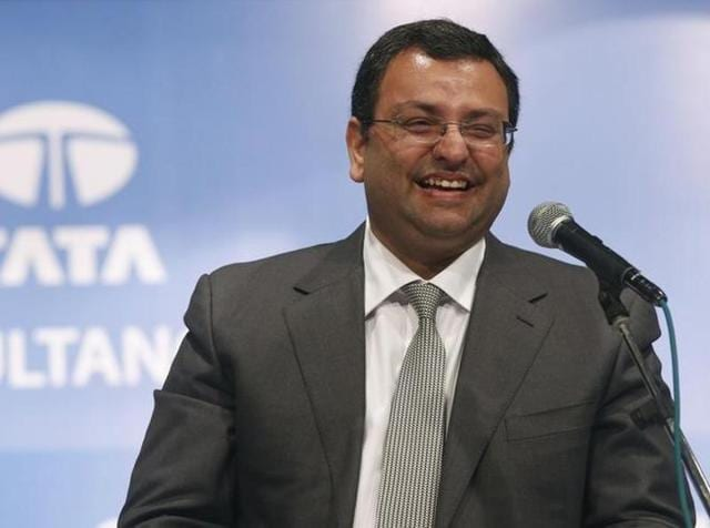 Cyrus Mistry, former chairman of Tata Group, smiles during a Tata Consultancy Services Ltd. (TCS) annual general meeting in Mumbai on June 27, 2014.