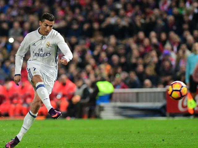 Real Madrid's Portuguese forward Cristiano Ronaldo is just two goals short of the 100 mark in European competitions.
