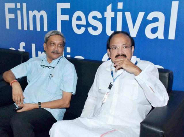 Venkaiah Naidu,Pahlaj Nihalani,IFFI