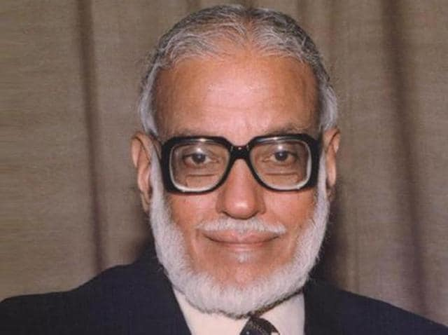 Prof MGK Menon, an acclaimed physicist, who had played a prominent role in the development of science and technology in the country over the last five decades. (Courtesy: isro.gov.in)