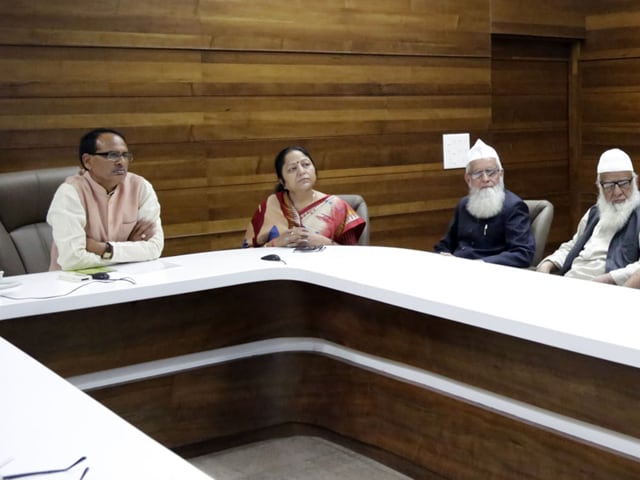 Chief minister Shivraj Singh Chouhan reviewed Ijtema arrangements in Bhopal on Tuesday.