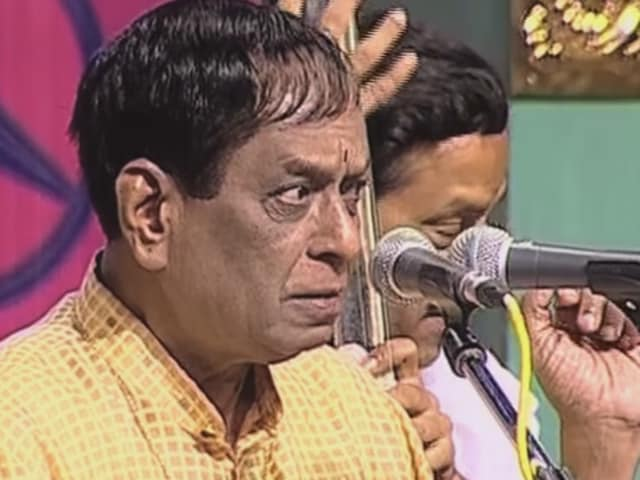 Balamuralikrishna was conferred with Padma Vibhushan in 1991.