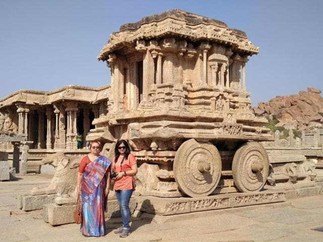 Alka, on a tour to world heritage sites in south India with her 70-year-old mother, completed her 3,000km trip, as scheduled with Rs 80 still in her wallet.