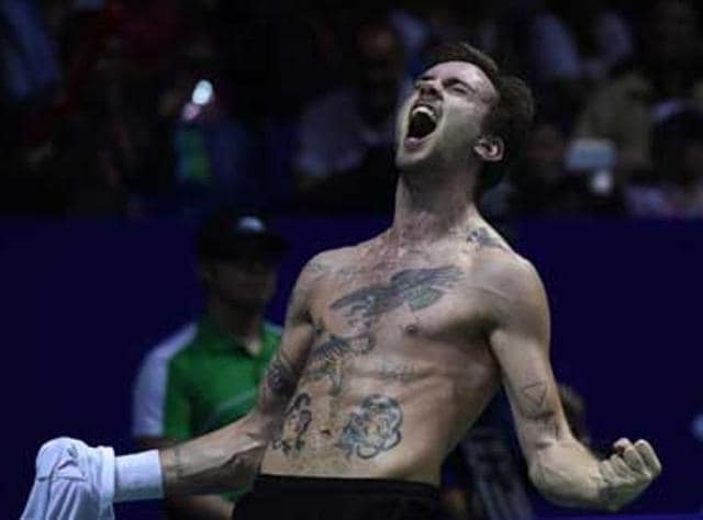 The Jan O Jorgensen, who went on to win the China Open on Sunday, drew ire when he threw a discarded shirt belonging to Malaysia's Iskandar Zulkarnain Zainuddin on to the court during their semi-final.