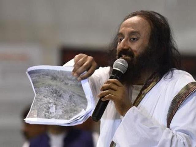 After Patanjali yoga, the state's education department seems to be endorsing programmes by Sri Sri Ravi Shankar's Art of Living.(HT file photo)