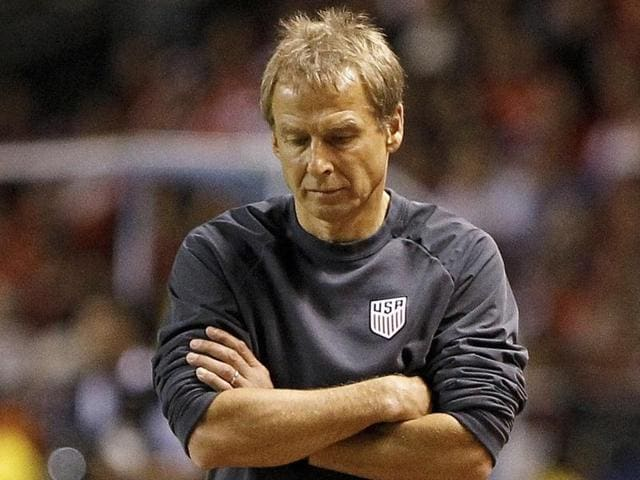 The 52-year-old Juergen Klinsmann, former Germany national team coach and World Cup-winning striker, had been in charge of the U.S. team since 2011.