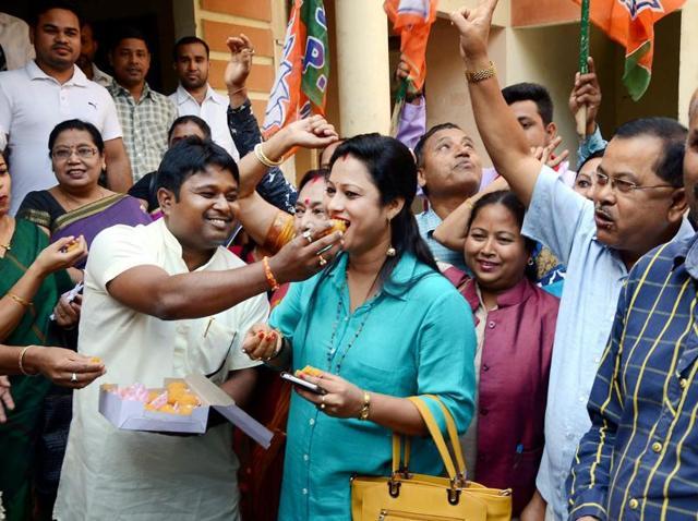 Byelections,BJP,TMC