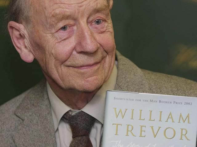 Trevor, one of Ireland's greatest novelists and short story writers, died on Monday.(AP)