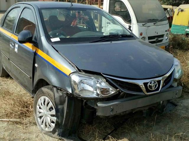 Suspects, Gaurav and Rishu, were arrested after a long chase in Dankaur's Makanpur Khadar village. All stolen vehicles and a butcher's knife were seized, police said.