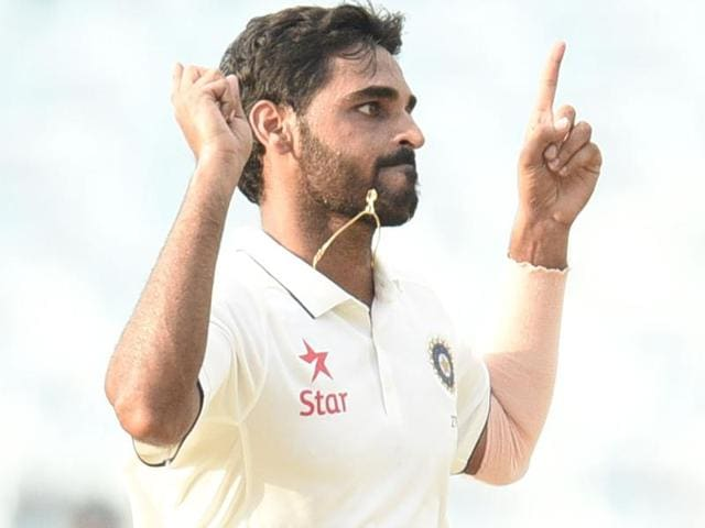 Bhuvneshwar Kumar is rewarded for his good show in the Ranji Trophy for Mumbai against Mysore, where he proved his fitness. Gautam Gambhir lost his spot in the 16-member India squad after a poor outing in the Rajkot Test against England.