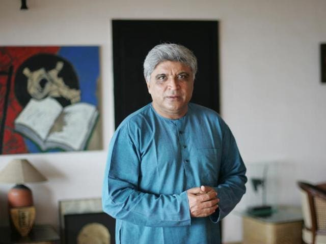 Javed Akhtar shares that during his college days, Sahir's poetry was immensely popular.(HT photo)