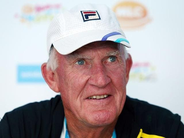 Tony Roche has coached the likes of Swiss great Roger Federer and India's Leander Paes.