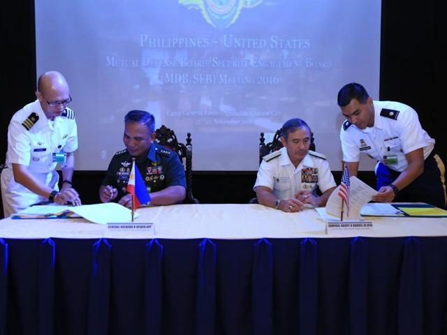 US-Philippines military ties,President Rodrigo Duterte,Philippine-US Mutual Defence Board