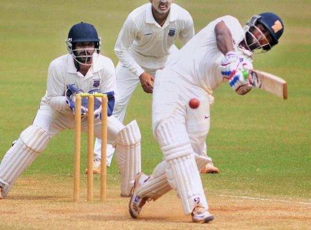 Mumbai : Delhi's \Rishab Pant, with 799 runs, now leads this season's Ranji Trophy run chart.