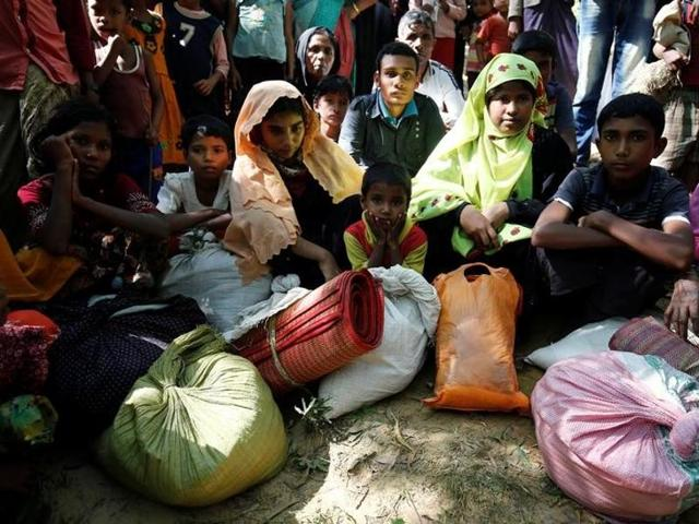 Commanders of the Border Guard Bangladesh said their troops had blocked nearly 300 Rohingya from crossing the border overnight, the highest number since the crisis began last month.