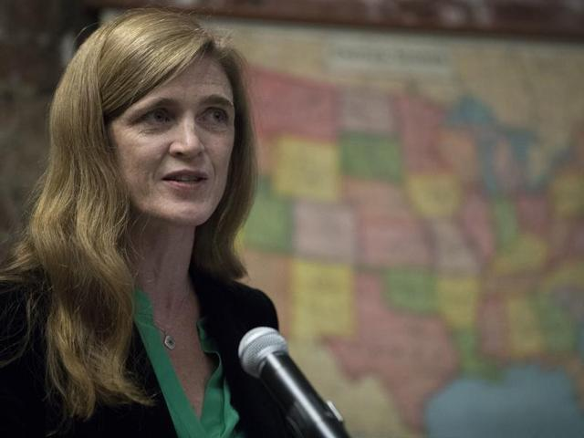 American ambassador to the UN Samantha Power said Syrian military commanders were involved in attacks on school, hospitals and home since the outbreak of the war in 2011.