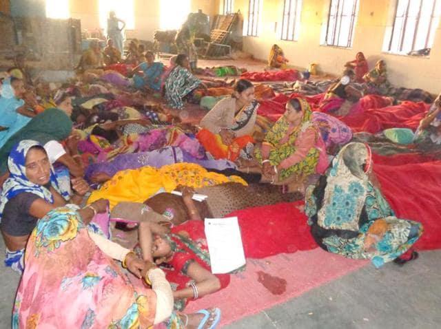 Rajasthan health,sterilisation camp,Dholpur sterilisation camp