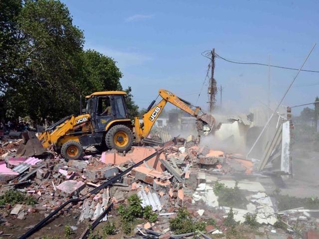 Thane Municipal Corporation,encroachments,demolition drive