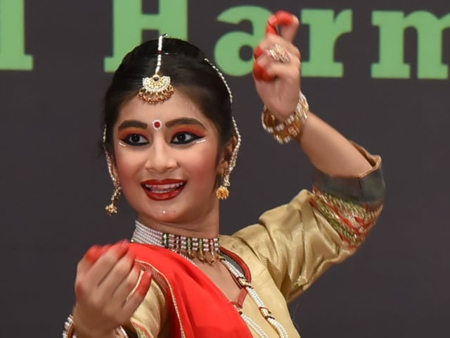 Avni had started learning kathak when she was three years old.