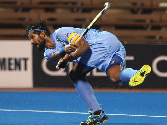 Rupinder Pal Singh converted two penalty corners in the 21st and 53rd minutes but Australia emerged winners with goals from Jeremy Hayward (24th and 36th) and Trent Mitton (43rd).