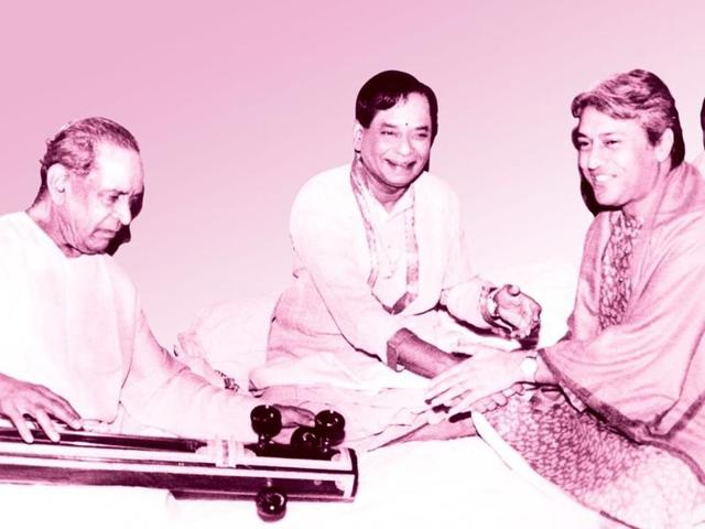 M. Balamuralikrishna,Ustad Amjad Ali Khan,Pandit Bhimsen Joshi