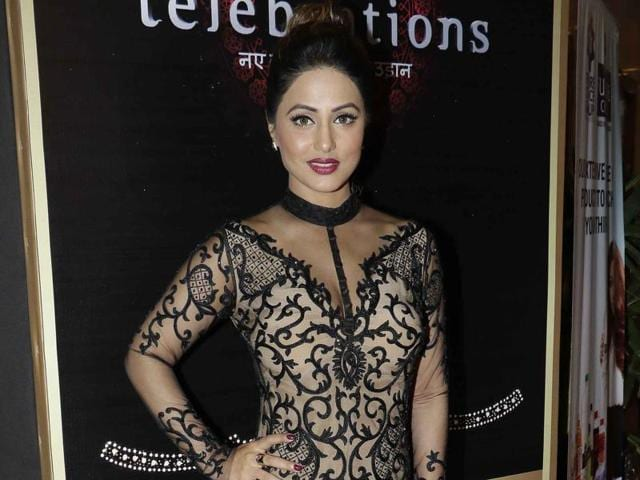 Hina Khan says no one can understand what she is feeling about exiting her eight-year-long TV show.(Yogen Shah)