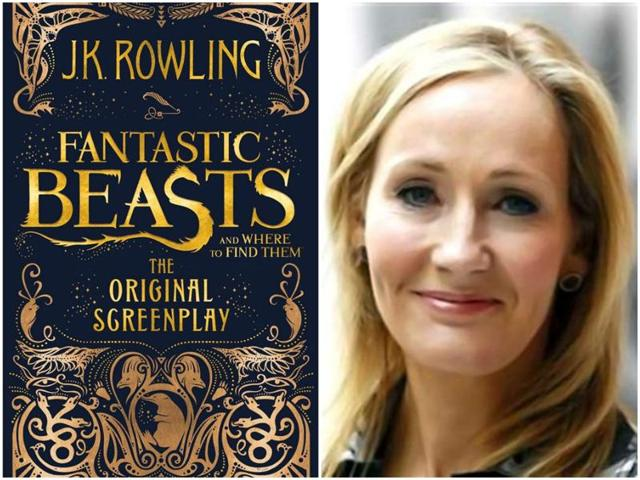 JK Rowling has made her screenplay-writing debut with Fantastic Beasts and Where To Find Them.