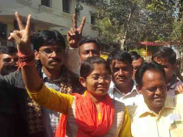 Manju Dadu is the second woman to represent Nepanagar assembly constituency.