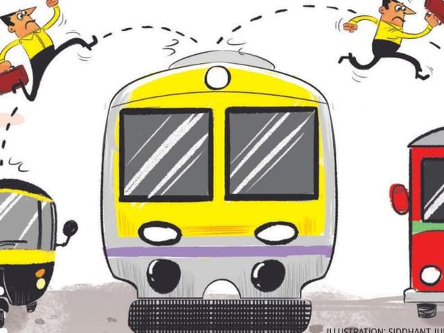 Narrow lanes, no footpaths, irregular, crowded buses, autorickshaws and taxis refusing fares — every day, the average Mumbai commuter dreads the journey to and from a railway and Metro stations.