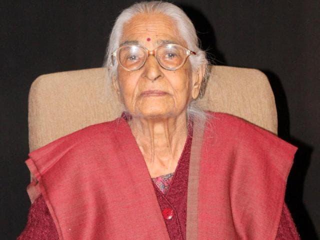 Vimla Sood(HT Photo)