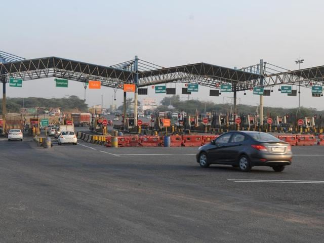 The RFID tag ensures that vehicles can pass the electronic toll collection booth without stopping as the toll amount will be deducted from the RFID card.