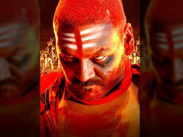 Raghava Lawrencce in a still from his hit film Kanchana 2, which also starred Taapsee Pannu.