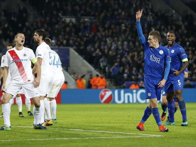 Leicester City continued their fairytale run in the UEFAChampions League as they progressed to the last 16 with a win over Belgium side Club Brugge.
