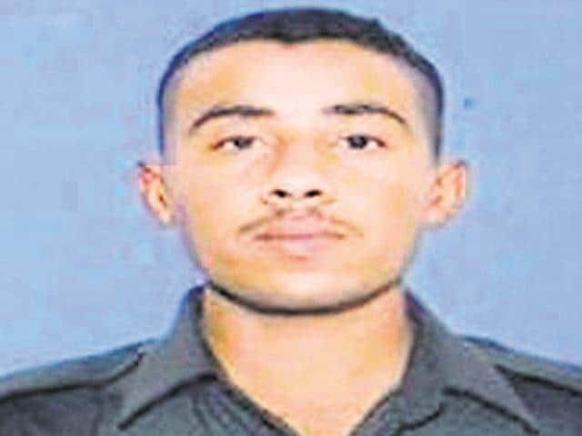 Rifleman Prabhu Singh.