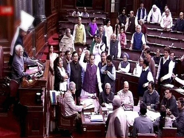 A riled Kurien also scolded Minister of State for Parliamentary Affairs Mukhtar Abbas Naqvi for apparently questioning the Chair's authority to allow an opposition member to speak.