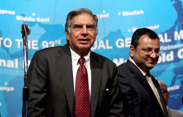 Ousted Tata Sons Chairman Cyrus Mistry at Bombay House, November 4