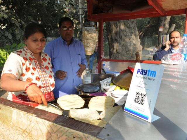 Urvashi Yadav is from a well-off family but she set up the stall after her husband had to quit his job following an accident.