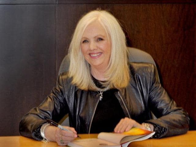 Author Rhonda Byrne. Her bestseller, The Secret, has completed a decade.