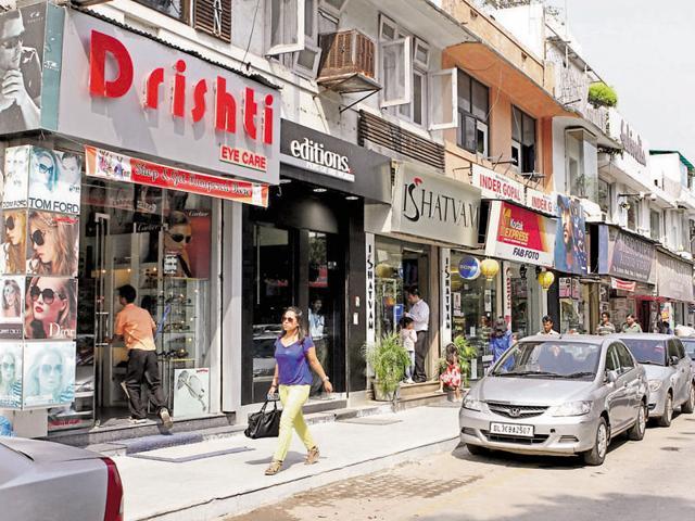 New Delhi,Retail spaces,Retail rent